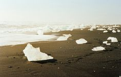 """trefoiled: """" The Icelandic glacial lake Jökulsárlón by McSaoul """""""