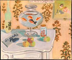 The Goldfish Bowl - Henri Matisse.  I still love Matisse's goldfish.