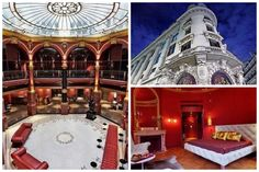 In honor of today's features The Banke boutique hotel in Paris' Opera District, set within a former bank headquarters and early Century Haussmann building. Adaptive Reuse, Paris Hotels, Best Hotels, Minimalism, Opera, Boutique, Mansions, Luxury, House Styles