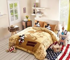 Hot Seller Mickey Mouse Bedding Set Comforter Sets On Sale