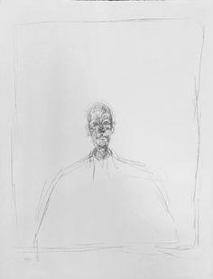 Alberto Giacometti, 'Buste d'Homme'