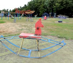 Vintage playground equipment - The Netherlands
