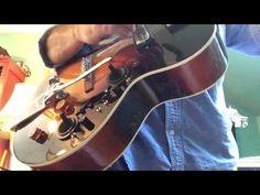 Walrus Audio Janus mounted in a Loar LH-309 - YouTube
