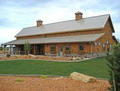 A nice new barn!