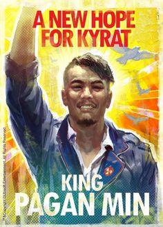 Pagan Min (Rey de Kyrat) - Far Cry 4 #FarCry4 #SendaDorada #Kyrat #GoldenPath #games #PaganMin #KingKyrat
