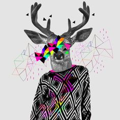 Kris Tate: entre colores y formas geométricas - Cultura Colectiva