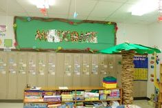 Love ther border for this bboard -Little Warriors: classroom pictures