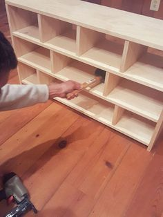 Dog Storage, Diy Shoe Storage, Diy Shoe Rack, Shoe Racks, Shoe Cubby, Shoe Shelves, Cubbies, Shelving, Build A Shoe Rack
