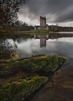 Ross Castle in Killarney in Co Kerry, Ireland.