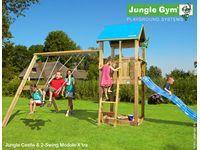 Klettergerüst Jungle Gym : 900 jungle gym spielturm club inkl. bridge modul und rutsche