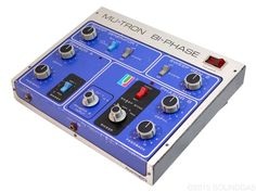 Musitronics Mu-Tron Bi-Phase - one of the biggest, baddest and greatest effect pedals of all time.