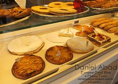 Daniel's European Food, Wine & History Tours Apple and Fruit Tarts and other local Specialties
