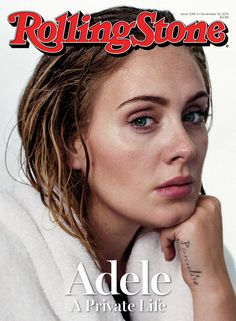 Adele Talks Boyfriend Simon Konecki, Having a Squad (with Rihanna Involved) & More in 'Rolling Stone'!: Photo Adele is wrapped in a towel, looking so raw and real on the cover of Rolling Stone's new issue. Rolling Stone Magazine Cover, The Rolling Stones, Elvis Costello, Britney Spears, Photoshop, Playboy, Pretty People, Beautiful People, Beautiful Women