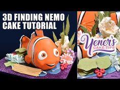 3D Nemo Cake Tutorial | Yeners Cake Tips with Serdar Yener from Yeners Way - YouTube