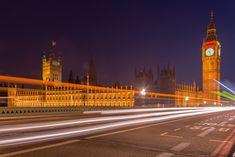 Big Ben and British Parliament over Westminster Bridge by Westminster Bridge, City Architecture, Capital City, Elizabeth Ii, Big Ben, Palace, United Kingdom, London