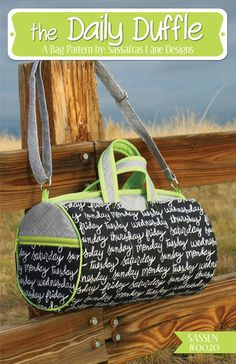'The Daily Duffle Bag' Pattern