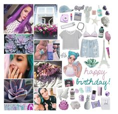 """happy birthday seastar [#452]"" by hello-crazy ❤ liked on Polyvore featuring Urban Outfitters, Wet Seal, Cosabella, Chicnova Fashion, Monki, AMI, Anya Hindmarch, Merci Gustave!, Zara Home and HomArt"
