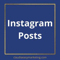 Marketing- und Mindset-Tipps für selbständige, bewusste Frauen, die ihr Business von innen heraus wachsen lassen endlich erfolgreich sein wollen. Meine IG Posts hier gesammelt. #instagram #marketingtipps #selbständig #businessfrauen Marketing, Tricks, Videos, Easy, Photo And Video, Instagram Posts, Tutorials, Simple