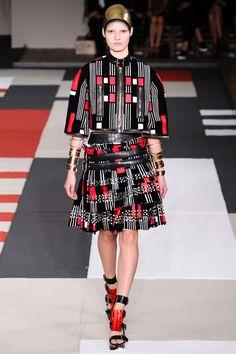 catwalk, fashion critic, runway review, paris fashion week, spring summer 2014, alexander mcqueen, sarah burton