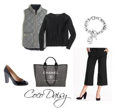"""""""Today"""" by cocodaisy ❤ liked on Polyvore featuring J.Crew, Chanel and Michael Kors"""