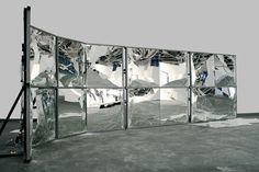 """Banks Violette - Mirror Wall, 2007 """