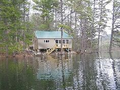 I love that my husband's family own a lake house in Denmark, Maine. Tranquility at its finest.