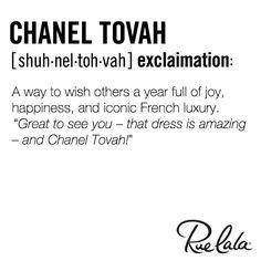 Chanel Tovah!