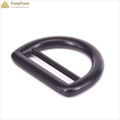 Black double bar d ring is made of an alloy material, it isperfect for making your adjustable straps, such as suspenders, backs of vest. It is fashion and creative.  In addition, it is also used for webbing, belt, strap, silk, leather strap, bags, belts, ribbon, fabric, handbags, webbing buckles. Information of Black Metal Slide D Buckle Double