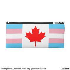 Transgender Canadian pride flag Pencil Case