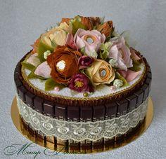 Gallery.ru / Фото #137 - Тортики из конфет - monier