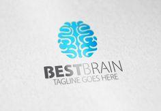 Best Brain Logo by Samedia Co. on creativework247