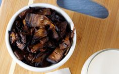 Tender, fleshy jackfruit is marinated in a smoky, pepper-maple mixture to taste just like bacon!