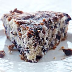 From Cooking Light: Wild Blueberry Coffee Cake