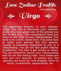 Virgo love sign