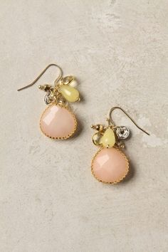 The colors in these earrings!  To die for!