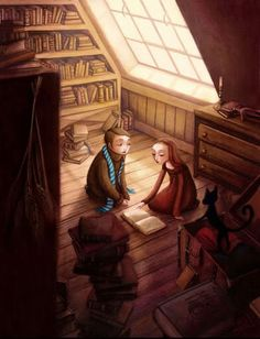 Benjamin Lacombe This reminds me of a scene in  one of the best books I've ever read, The BookThief