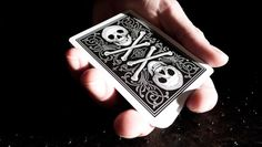 First released over 100 years ago! These limited edition playing cards are available once again in red or black. Produced by the Conjuring Arts Research Center and printed by the United States Playing Card Co.