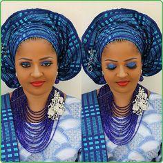 Royal blue  ~Latest African Fashion, African Prints, African fashion styles, African clothing, Nigerian style, Ghanaian fashion, African women dresses, African Bags, African shoes, Nigerian fashion, Ankara, Kitenge, Aso okè, Kenté, brocade. ~DKK