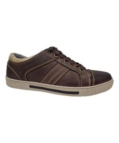 Brown Leather Dylan Sneaker