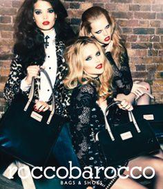 Meghan Wiggins-Rocco Barocco Bags Ad