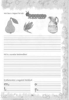 Írott betűk - kisferenc.qwqw.hu Literature, Lily, Album, Erika, Teacher, Pdf, Education, School, Animals
