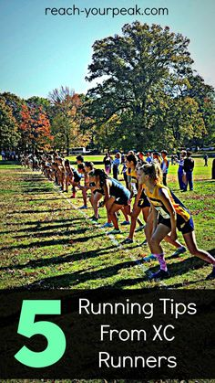 Running tips from college cross country runners...we can all relate! #pinoftheday