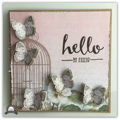 Artdeco Creations Brands: Hello my Friend by Tracey Rohweder