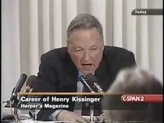 ▶ 2001 Trial of Henry Kissinger thanks to auhtor Christopher Hitchens (89min) on the Abuse of Power & War Crimes in the name of Democracy or Empire? • focuses only on Kissinger's  National Security Adviser position under Nixon, specifically Indochina crimes...