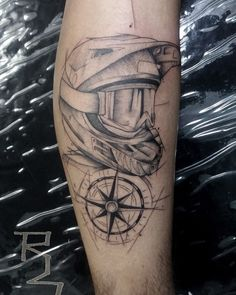 Motocross Tattoo, Dirt Bike Tattoo, Bike Tattoos, Pin Up Tattoos, Large Tattoos, Sleeve Tattoos, Tattoo Design Drawings, Tattoo Designs, Racing Tattoos