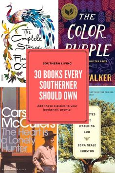 Books Every Southerner Should Own- Add these classics to your bookshelf, pronto.