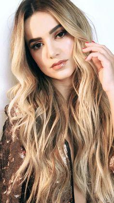 Eyeshadow Step By Step, Beauty Makeup, Hair Beauty, Brazilian Women, Beautiful Long Hair, Girls 4, Selena Gomez, Bella, Blonde Hair