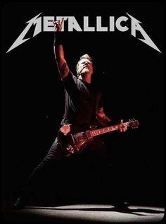 The man.James Hetfield of Metallica Heavy metal music Metal Music Bands, Heavy Metal Music, Heavy Metal Bands, James Metallica, Metallica Art, Metallica Albums, Robert Trujillo, James Hetfield, Pop Rock