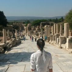 Back in Ephesus after 10 years. Efeso