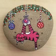 Image result for trompe l'oeil painted rock